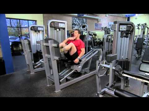 Life Fitness Pro2 Seated Leg Press Instructions