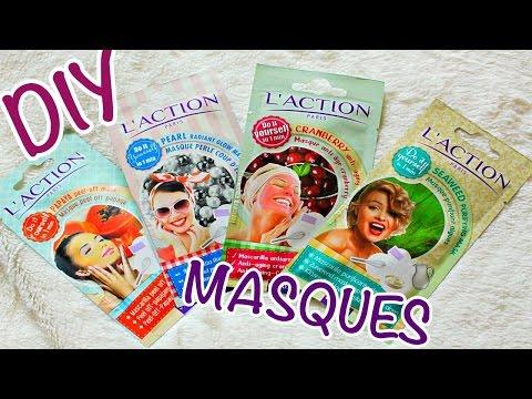 Les masques des kiwis pour la personne les effets
