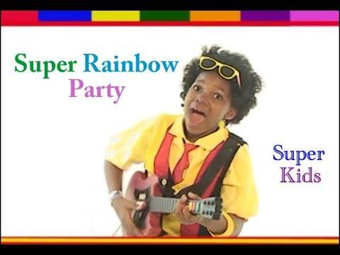 Super Kids  -  Super Rainbow Party (Official Audio) Vol 5
