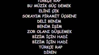 Hidra Türkçe Rap Sözleriyle