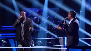 Anthony Evans vs. Jesse Campbell on The Voice