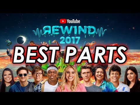YouTube Rewind 2017 but only the good parts