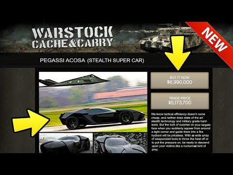 GTA Online: NEW Stealth Super Car Concept - Rockstar NEEDS To Add This