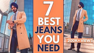 7 BEST JEANS For Men In India | 2020 (MEN JEANS GUIDE)