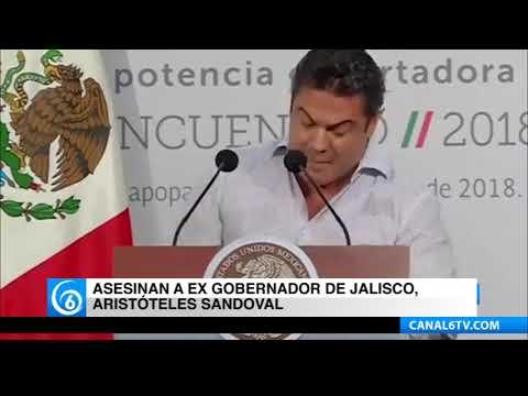 Asesinan a ex gobernador de Jalisco, Aristóteles Sandoval
