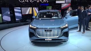Genève 2019 : Audi Q4 e-tron