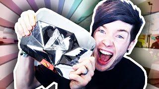OUR DIAMOND PLAY BUTTON!!!!