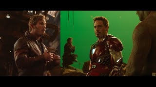 Avengers: Infinity War   Previsualization vs Trailer
