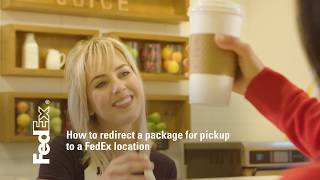FedEx Redirect to Hold Tutorial
