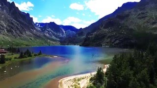 Drone shot DJI phantom 3, Big sky Montana