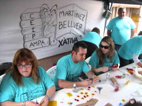 Martínez Bellver Xàtiva. Participació en els premis Sambori i 22a Trobada d'Escoles en Valencià