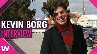 """Kevin Borg """"Follow"""" - Malta ESC 2017 (INTERVIEW)"""