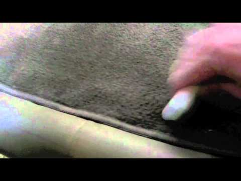 Remove Pet Hair From Fabric With A Pumice Stone