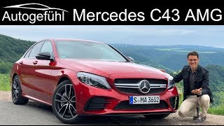 Mercedes C43 AMG C-Class Facelift FULL REVIEW CClass C-Klasse 2019 - Autogefühl