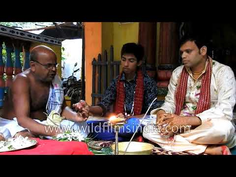 Sweekar ceremony : ritual for accepting groom for bride