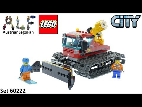 Vidéo LEGO City 60222 : La dameuse