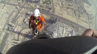 Joe McNally Photography- Climbing the Burj Khalifa (The World's Tallest Building)