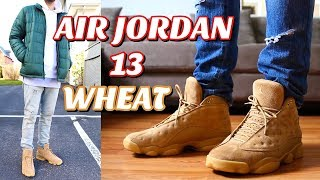 HOW TO STYLE - AIR JORDAN RETRO 13 WHEAT ON FEET + OUTFITS