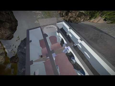 Iglesia rupestre mozárabe de Bobastro  Reconstrucción virtual