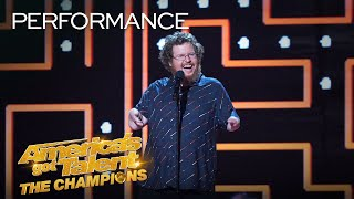 Ryan Niemiller's Funny Stand-Up Will Make You Laugh Out Loud! - America's Got Talent: The Champions thumbnail