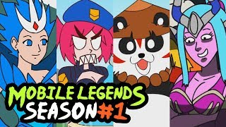 MOBILE LEGENDS: SEASON #1 COMPILATION 1-14 (CARTOON)