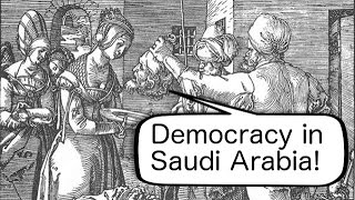 Fighting for democracy gets you beheaded in Saudi Arabia (The Infidel 2014-11-07)