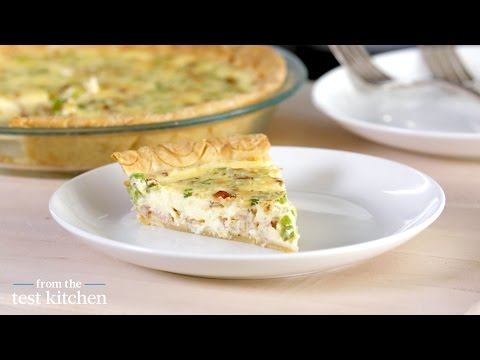 Bacon and Scallion Quiche – From the Test Kitchen