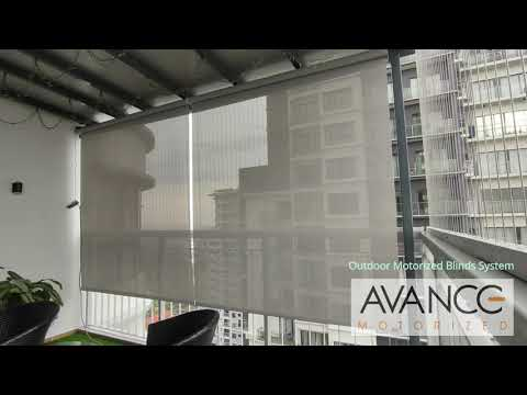 Ara damansara outdoor motorized blinds