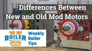 Honeywell Mod Motor Series | New and Old Mod Motor Comparison - Weekly Boiler Tips