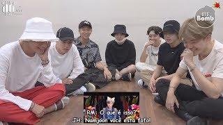 """[Bangtan Bomb] BTS Reagindo Ao Próprio MV De """"IDOL"""""""