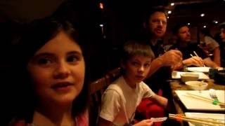 HIBACHI DINNER SHOW - OUR FIRST ONE! Rock the Day