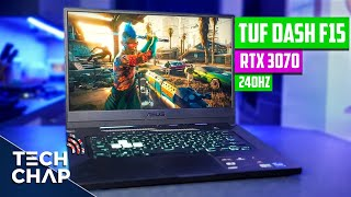 ASUS TUF Dash F15 Review - Thin & Light Gaming Laptop! | The Tech Chap