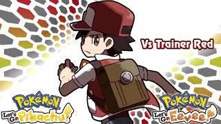 【Pokemon】 Let's Go Pikachu & Eevee _ Battle Music!! vs Red【HanadaCh】