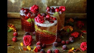 Apple Cranberry Moscow Mule Cocktail