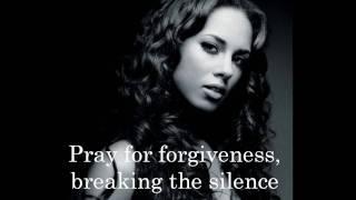 Alicia Keys - Pray For Forgiveness (Lyrics On Screen)