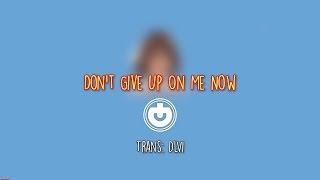 Don't Give Up On Me Now   R3hab, Julie Bergan (Vietsub, Engsub + Lyrics)