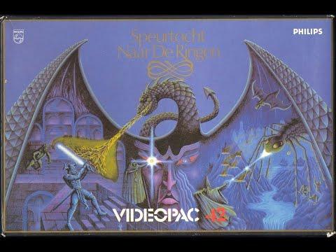 Nr. 42 Das Geheimnis der Ringe   Philips Spielekonsolen   G7000 / G7400 / Videopac / Videopac+