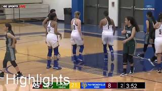 Highlights Lyford vs Raymondville Girls Basketball 11 11 2019