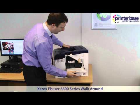 Xerox Phaser 6600 Colour Laser Printer Walkaround