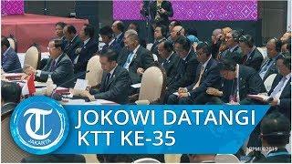 Jokowi Sampaikan Pandangan bagi Pemulihan Situasi di Rakhine State di KTT ke 35 ASEAN di Bangkok