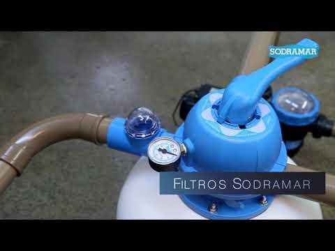 Sodramar - Filtros e bombas para piscinas - Vídeo demonstrativo