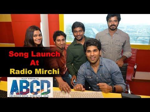 Allu Sirish & ABCD Team Song Launch At Radio Mirchi