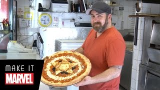 Make It Marvel: Captain America Pizza