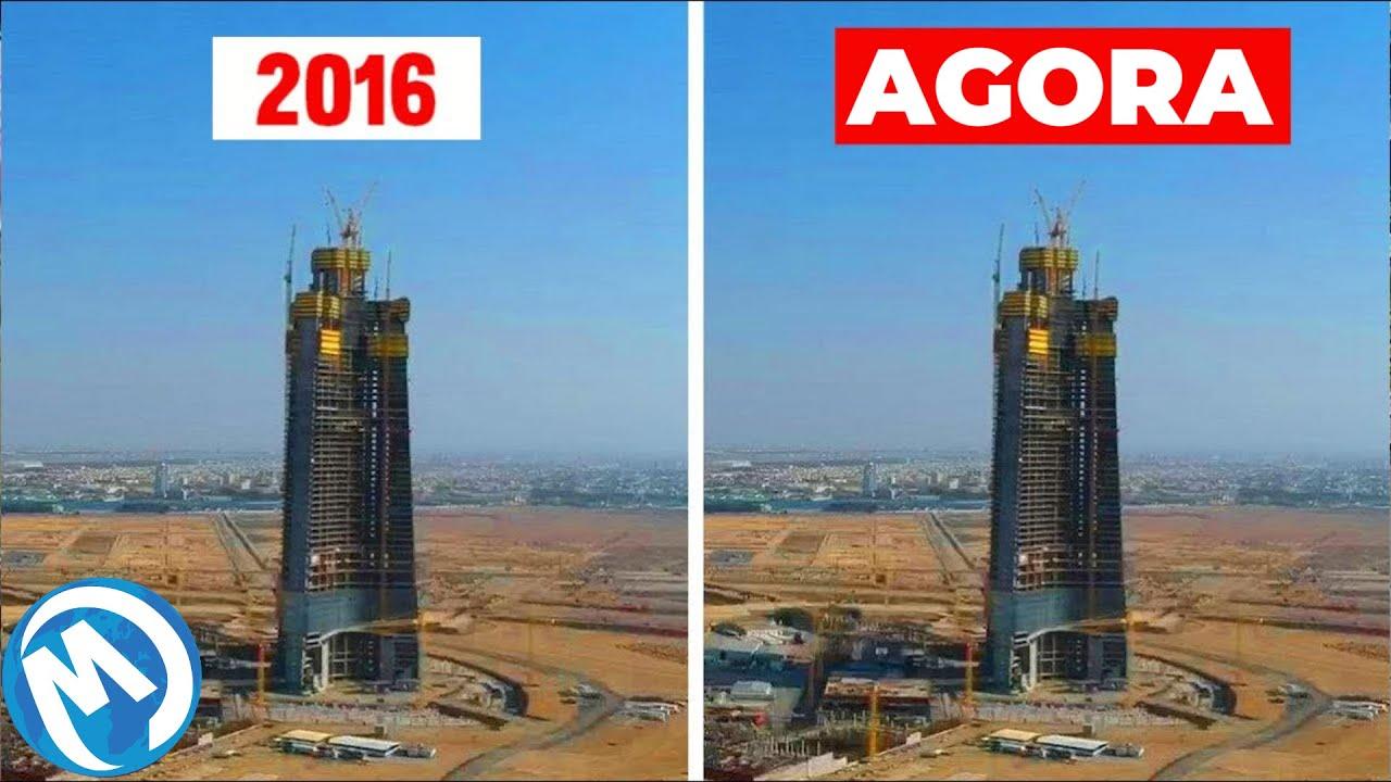 A torre mais alta do mundo atrasada, um hotel que...