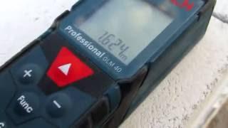 Laser Entfernungsmesser Bosch Glm 40 : Bosch glm free video search site findclip