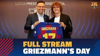 FULL STREAM | Antoine Griezmann's Presentation At Camp Nou