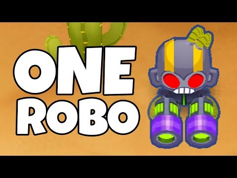 How Long Can You Survive With 1 Ninja Monkey? (Bloons TD 6
