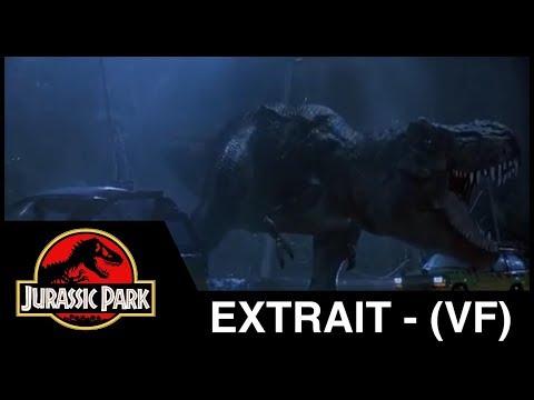 Jurassic Park - extrait : l'enclos du T-rex - (VF)