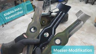 Rasenmäher-Messer schärfen und verbessern Makita DLM431Z