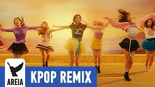 SNSD Girls' Generation - Holiday | Areia Kpop Remix #292